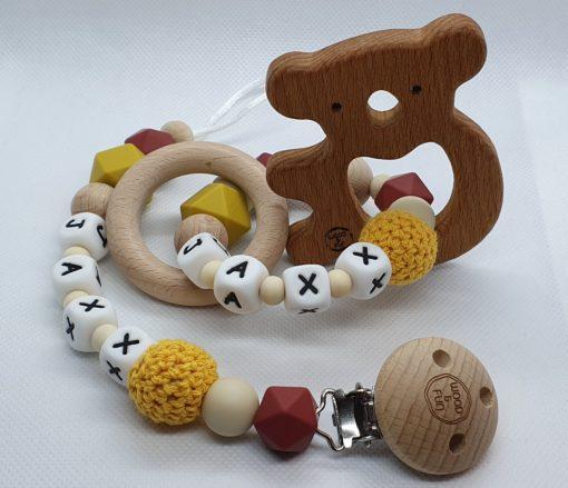 Duo baby gift set Jaxx - Wood & Fun