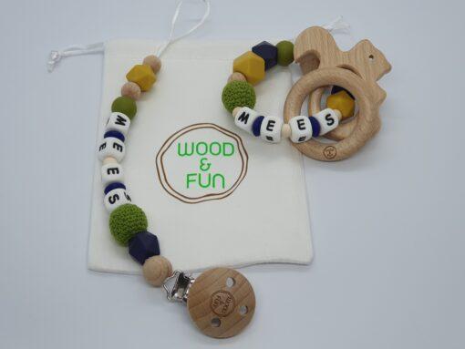 Baby gift set Mees - Wood & Fun